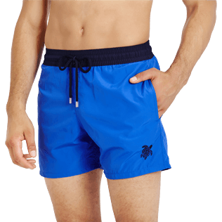 Men Ultra-light classique Solid - Men Swimwear Ultra-light and packable Bicolour, Royal blue supp1