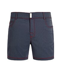 Men Flat belts Solid - Men Swim Trunks Flat Belt Solid, Med denim w2 front