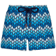 Women Others Printed - Women Swim Short Herringbones Turtles, Navy front