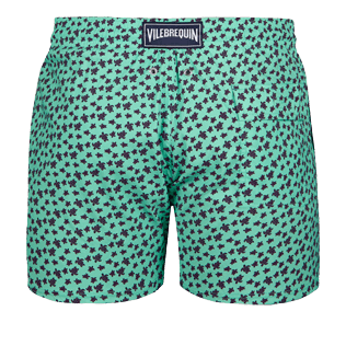 Men Stretch classic Printed - Men Stretch swimtrunks Micro Ronde Des Tortues, Mint back