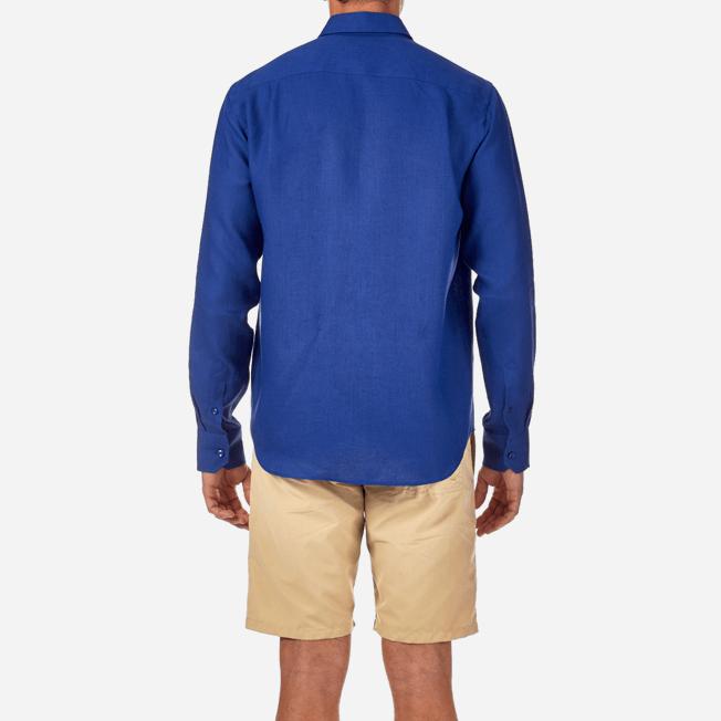 Vilebrequin - Men Linen Shirt Solid - 6