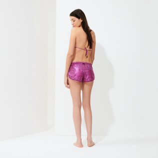 Women Others Printed - Women Swim Short Crocros, Mumbai backworn