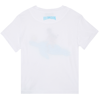 AUTRES Imprimé - T-Shirt Enfant en Coton My Favorite Dad !, Blanc back