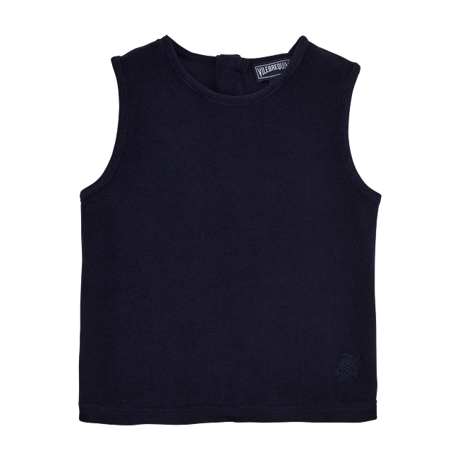 Vilebrequin - Girls Tank Top in Terry Cloth Solid - 1