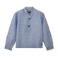 Boys Others Solid - Boys Linen Cotton Shirt Solid, Indigo front