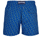 Men Stretch classic Printed - Men Swim Trunks Stretch Nataraja, Batik blue back