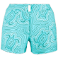 Women Shorties Printed - Women Stretch Swimwear fabric Shortie Hypnotic Turtles, Curacao front