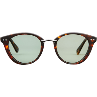 Sunglasses Solid - Unisex Sunglasses Polarised Khaki, Brown front