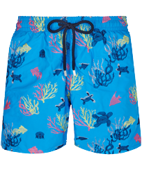 男款 Embroidered 绣 - Men Swimwear Embroidered - Limited Edition, Atoll front