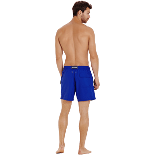 Men Classic Magique - Men Swimtrunks Water-reactive Crabs, Royal blue backworn