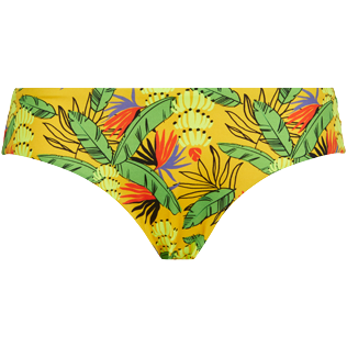 Women Classic brief Printed - Women Bikini Bottom covering brief Go Bananas, Curry front