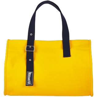 Bags Solid - Large Solid Beach Bag, Turmeric front