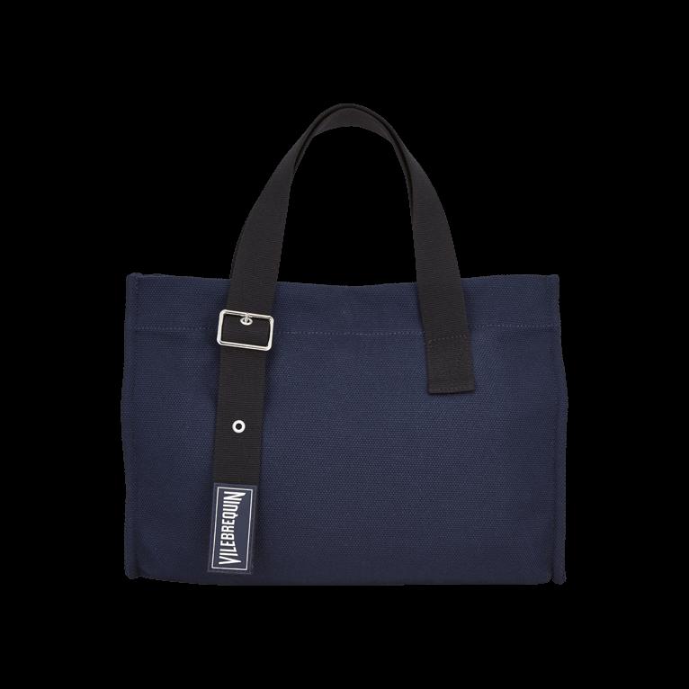 Accessoires Vilebrequin - Petit Sac De Plage En Coton Solide - Sac De Plage - Bagmu - Bleu - Osfa - Vilebrequin Acheter Pas Cher Meilleur gxQ7r0k