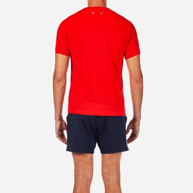 Vilebrequin - Camiseta en piqué de algodón liso - 6