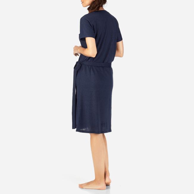 Vilebrequin - Solid Linen Wrap-Around Dress - 4