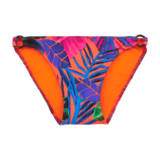 Girls Others Printed - Girls bikini Bottom Porto Rico, Bright orange front