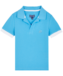 Boys Others Solid - Boys Cotton Pique Polo Shirt Solid, Jaipuy front