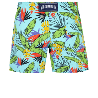 Niños Autros Estampado - Boys Swimwear Stretch Go Bananas, Lazulii blue back