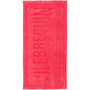 Others Solid - Beach Towel in terry cloth Solid Jacquard, Hibiscus front