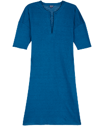 Women Others Solid - Women Linen Dress Solid, Goa front