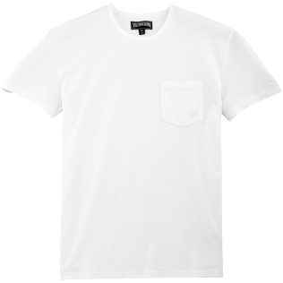 Men Others Solid - Classic Tee, White front