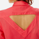 Women Others Solid - Women backless cotton shirt solid, Hibiscus supp1