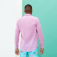 Others Solid - Unisex Cotton Voile Light Shirt Solid, Pink berries backworn