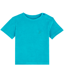 Boys Others Solid - Boys T-Shirt Terry Cloth Solid, Light azure front