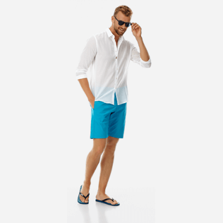 Men Others Solid - Men swimwear fabric straight Bermuda Shorts Solid, Seychelles supp2