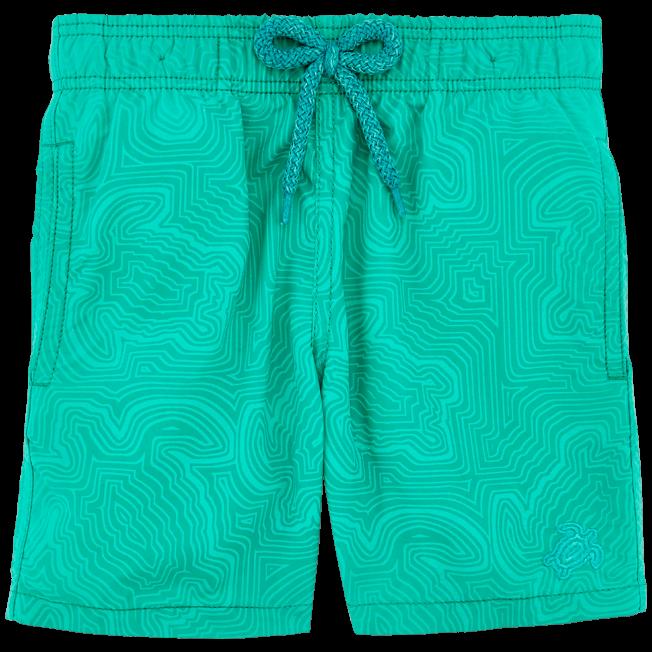 Vilebrequin - Boys Water-Reactive Swimwear Hypnotic Turtles - 3