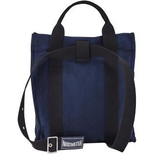 Others Solid - Cotton Beach Backpack Solid, Navy back