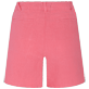 Women Others Solid - Women Linen Bermuda Shorts Solid, Cherry blossom back