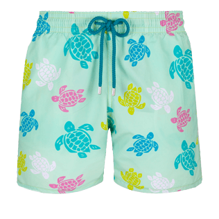Men Classic Printed - Men Swimwear Ronde des tortues, Seaweed front