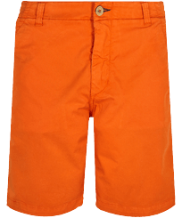 男款 Others 纯色 - Men Chino Bermuda Shorts Ultra-light, Apricot front