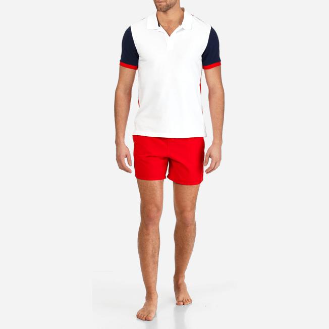 Vilebrequin - Polo en Piqué de Coton Homme Multicolore - 3