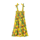 Girls Others Printed - Girls Dress Go Bananas, Curry back