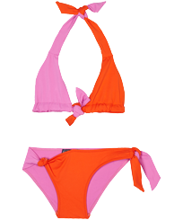 Girls Others Solid - Girls Two pieces Swimsuit Ring & Opening, Mumbai front