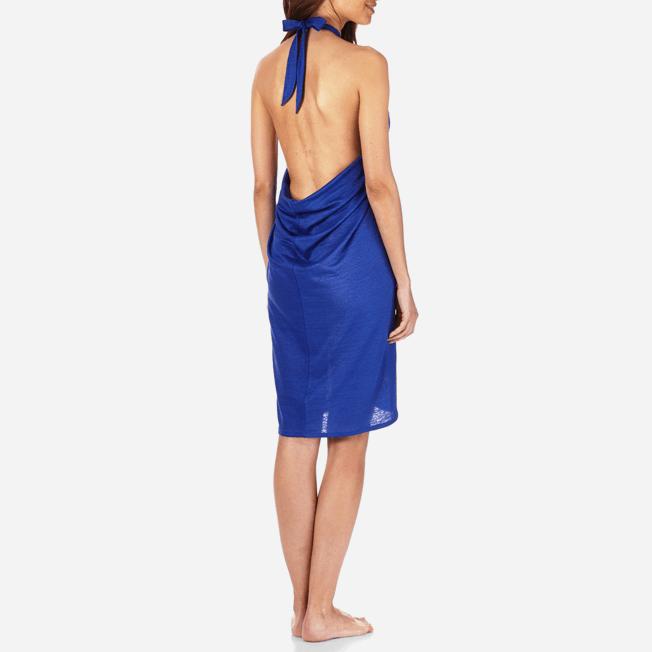 Vilebrequin - Robe paréo en Jersey de lin Femme Unie - 4