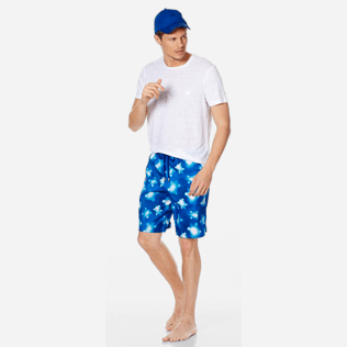 Men Long classic Printed - Men Swimwear Long Ultra-Light and Packable Crystal Turtles, Atoll supp2