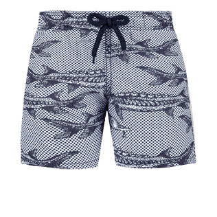 Boys Others Printed - Boys Swimwear Belle ou Gars, White front