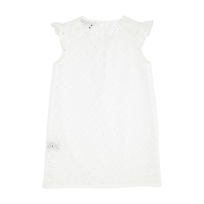 Vilebrequin - Robe Fille en Coton Broderies Anglaises - 2