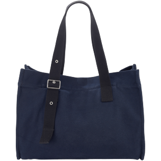 Bags Solid - Large Solid Beach Bag, Navy back