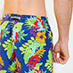 Men Classic Printed - Men Swimwear Les Geckos, Batik blue supp1