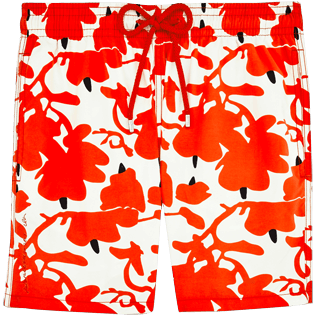 Men Classic / Moorea Printed - Donald Sultan Swimshort, White front