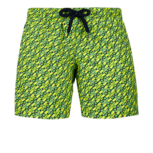Boys Others Printed - Boys Stretch swimtrunks St Barth, Cactus front
