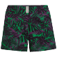 Women Others Printed - Women Stretch Swim Short Madrague, Grass green front