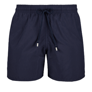 Men Classic Solid - Men Swimwear Solid, Navy front