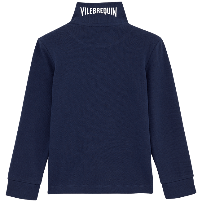 Vilebrequin - Solid Long sleeves Cotton pique polo - 2