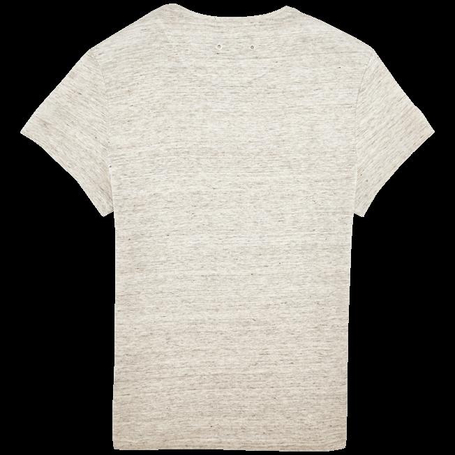 Vilebrequin - Camiseta de lino lisa para hombre - 2