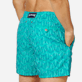Men 017 Embroidered - Men Swim Trunks Embroidered Armor Turtles - Limited Edition, Veronese green supp1